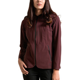 Alchemy Equipment 2.5 Layer Stretch Rain Shell Dame merlot